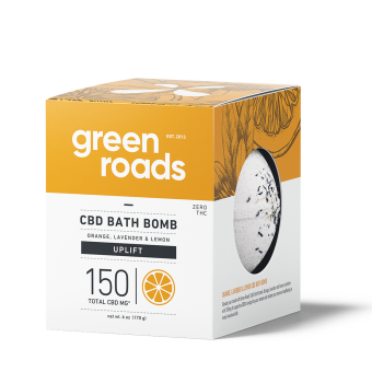 Green Roads - 150MG UPLIFT CBD BATH BOMB