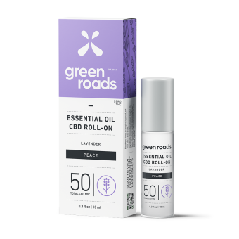 Green Roads - 50MG PEACE ESSENTIAL OIL ROLL-ON