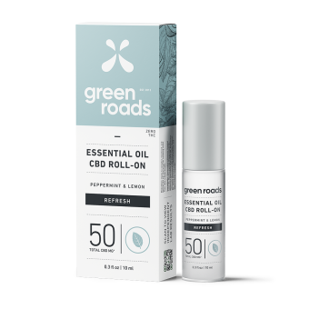 Green Roads - 50MG REFRESH ESSENTIAL OIL ROLL-ON