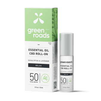 Green Roads - 50MG RELAX ESSENTIAL OIL ROLL-ON