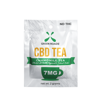Green Roads - 7MG TEA BAG - 2GRAM