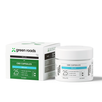 Green Roads - CBD RELAX CAPSULES 25MG