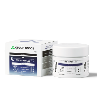 Green Roads - CBD SLEEP CAPSULES 25MG