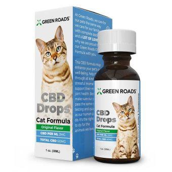 Green Roads - PET CBD DROPS CAT