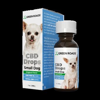 Green Roads - PET CBD DROPS SMALL DOG
