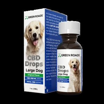 Green Roads - PET CBD DROPS LARGE DOG