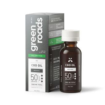 Green Roads - FULL SPECTRUM CBD OIL, 50MG/ML
