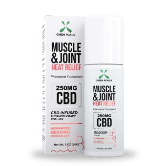 Green Roads - 250MG MUSCLE & JOINT HEAT RELIEF ROLL ON
