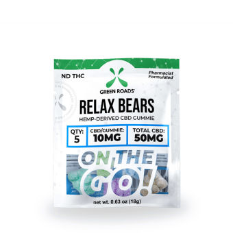Green Roads - 50MG RELAX BEARS - OTG
