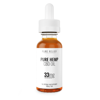 Pure Relief - Full-Spectrum CBD Oil 1000mg
