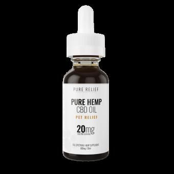 Pure Relief - Pet CBD Oil