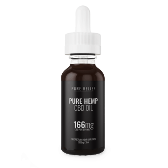 Pure Relief - CBD Oil Extra Strength 5000mg