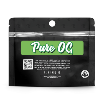 Pure Relief - Raw Hemp CBD Flower