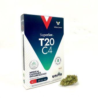 יוניבו - Univo - תפרחת White Lemon ווייט למון סאטיבה - T20/C4