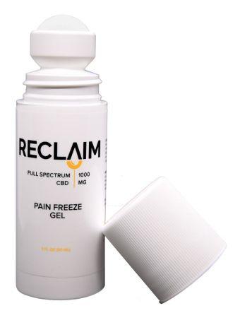 Reclaimlabs - 1000mg Nano CBD Roll-On Pain Relief, 3 Fl. Oz.