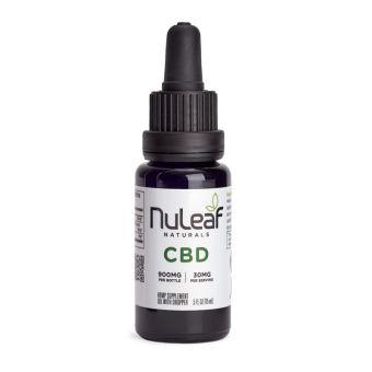 NuLeaf naturals - Full Spectrum Hemp CBD Oil