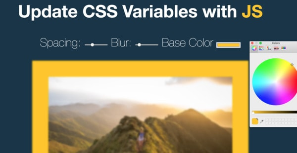 Playing with CSS Variables and JS