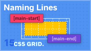 Naming Lines in CSS Grid