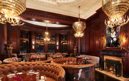 See Blueblood Steak House Casa Loma by RFP Design Group Inc at