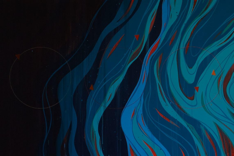 "Murals by Erik Otto at Grand Hyatt San Francisco, San Francisco - ""Where Dreams Are Born"""