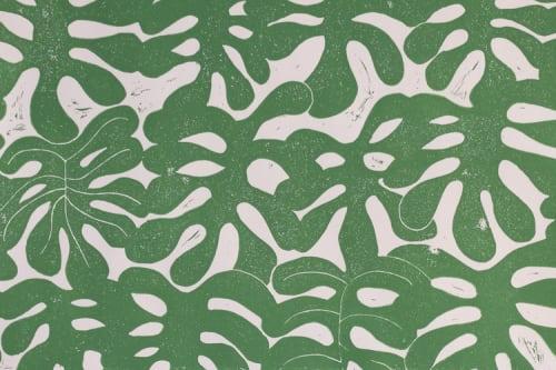 Wallpaper by Paper Mills, Inc. at Private Residence, East Hampton, New York, East Hampton - Little Havana