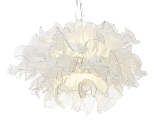 See fandango hanging lamp by kenneth cobonpue at lake house