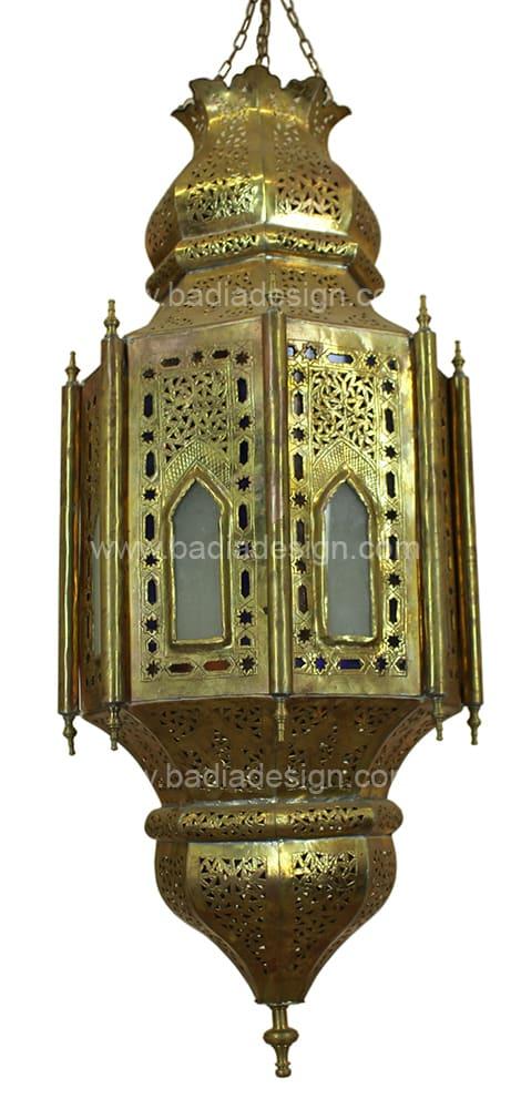 Beautiful Lighting By Badia Design At The Joshua Tree Casita, Joshua Tree   Hanging  Moroccan Brass