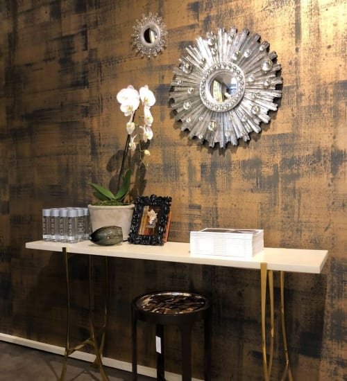 Wallpaper by Paper Mills, Inc. at Pacific Design Center, Los Angeles - Sedimentary - Bronze Age