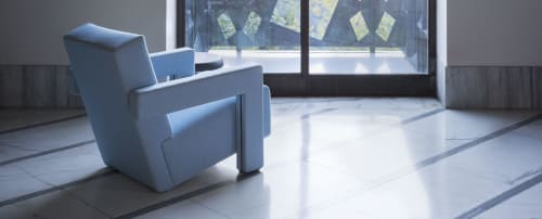 Chairs By Gerrit Thomas Rietveld At Wired Magazine, San Francisco   Utrecht  Armchair ...