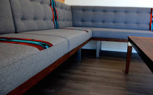 Couches & Sofas by FOLK at Private Residence, Hawthorne, Portland, OR, Portland - Custom Banquette
