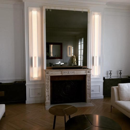 Lighting by CINIER Americas at Paris Apartment, Paris - Mire M