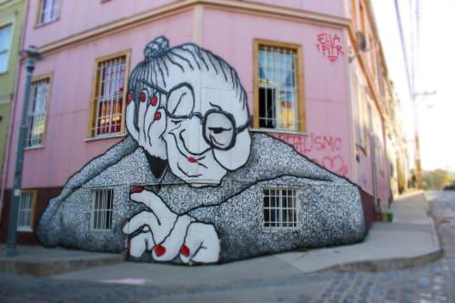 Street Murals by Ella & Pitr