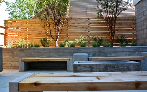 Benches & Ottomans by FOLK at Private Residence, Hawthorne, Portland, OR, Portland - FOLK Benches