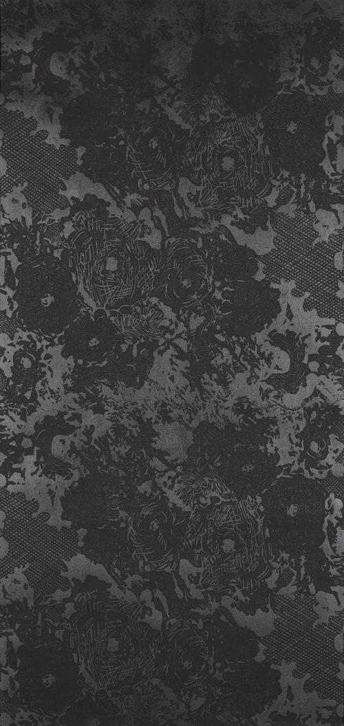 Wallpaper by Paper Mills, Inc. at San Francisco Decorator Showcase, San Francisco - Desert Rose - Midnight