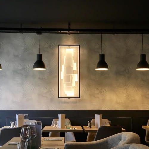 Lighting by CINIER Americas at Le Notre Dame Café, Rungis - Cinier LT Wall