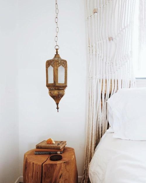 Hanging Moroccan Brass Lantern