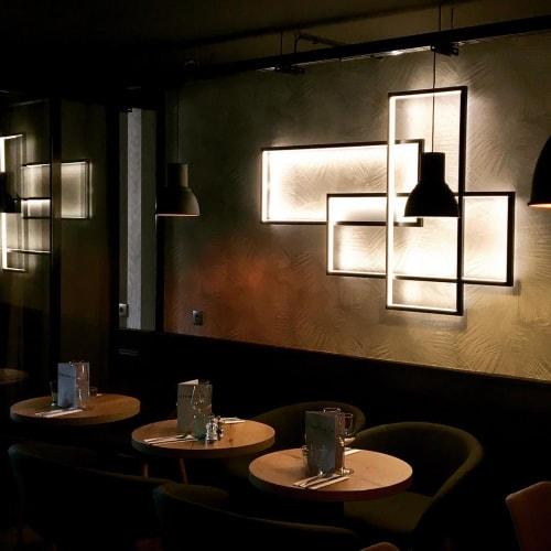 Lighting by CINIER Americas at Le Notre Dame Café, Rungis - Trio LT