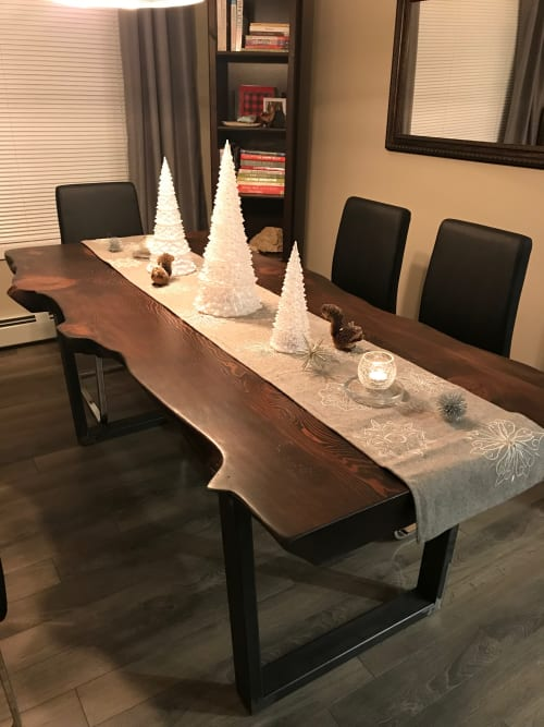 Tables By Cask Woodworking At Private Residence, Edmonton, Canada, Edmonton    Douglas Fir