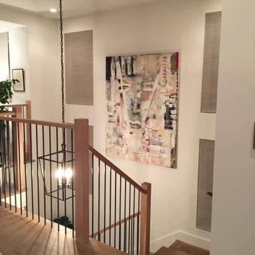 Paintings by Amadea Bailey at Private Residence, Manhattan Beach, Manhattan Beach - I Am That