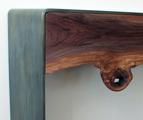 Tables By Andre Joyau At Private Residence, Brooklyn, NY, Brooklyn    Irigushi Console