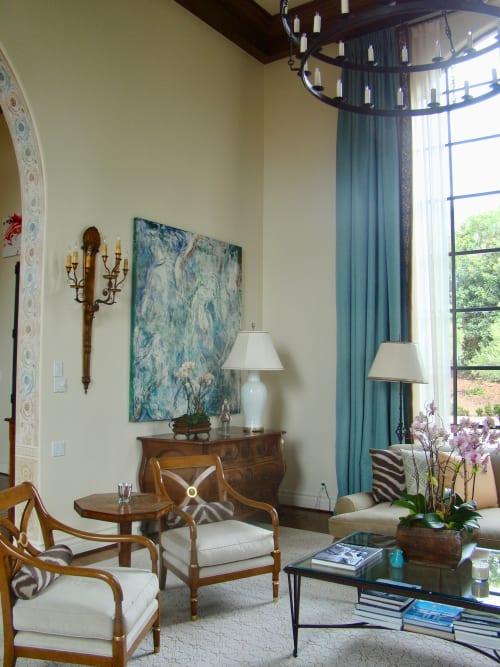 Paintings by Amadea Bailey at Private Residence, Santa Barbara, CA, Santa Barbara - Abstract Painting