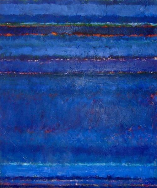Paintings by Amadea Bailey at Private Residence, Santa Barbara, CA, Santa Barbara - Lagoon
