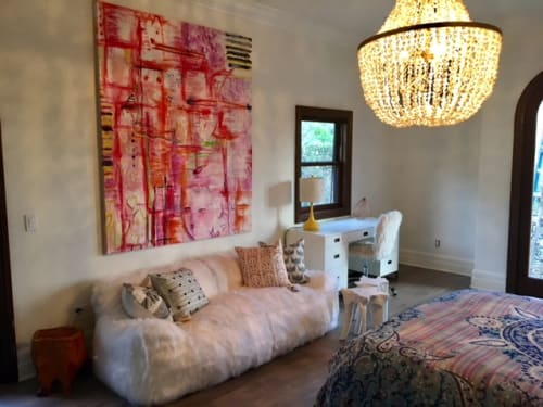 Paintings by Amadea Bailey at Private Residence, Beverly Hills, CA, Beverly Hills - Pink Dancer