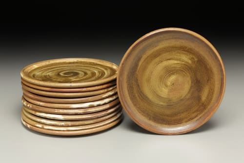 Ceramic Plates by Crazy Green Studios at Tandem, Carrboro - Sharing Plates