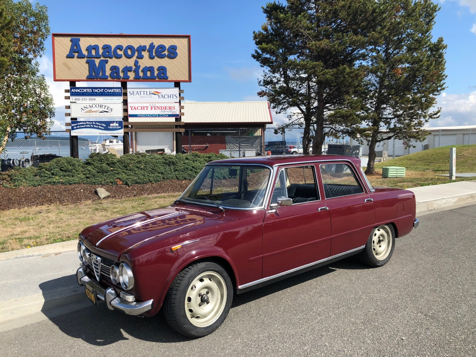 Recently restored & delivered Alfa Giulia Super.