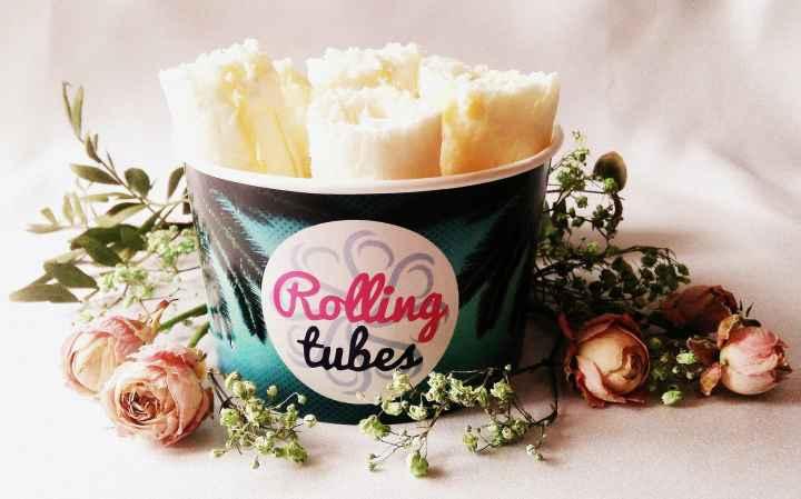 Wyjątkowe lody na weselu | naturalne lody tajskie Rolling tubes
