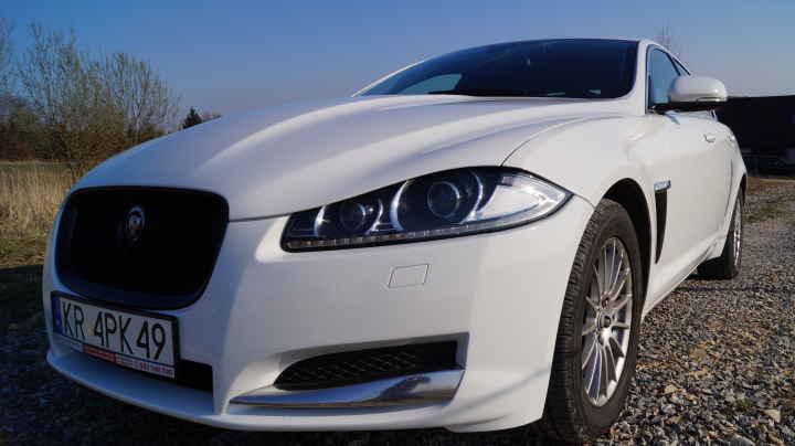 Jaguar XF - Biała perła