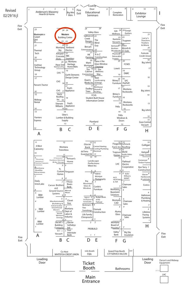 showcase map wbc