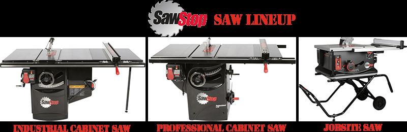 sawstop lineup