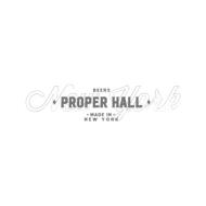 Proper Hall
